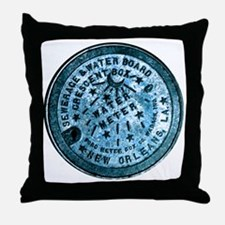 METERCOVER#2 Throw Pillow