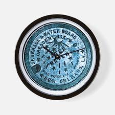 METERCOVER#2 Wall Clock