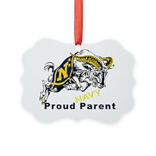 Proud USNA Parent Ornament