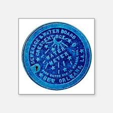 """METERCOVER#3 Square Sticker 3"""" x 3"""""""