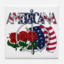 Americana II Tile Coaster