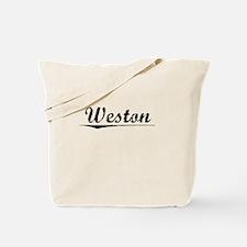 Weston, Vintage Tote Bag