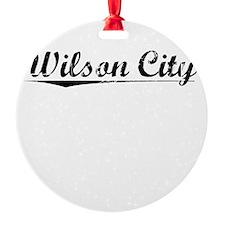 Wilson City, Vintage Ornament