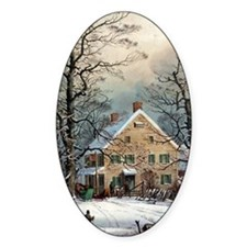 Winter In The Country Decal