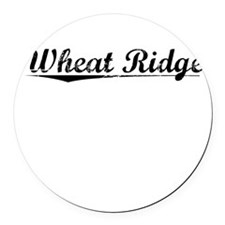 Wheat Ridge, Vintage Round Car Magnet