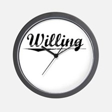 Willing, Vintage Wall Clock