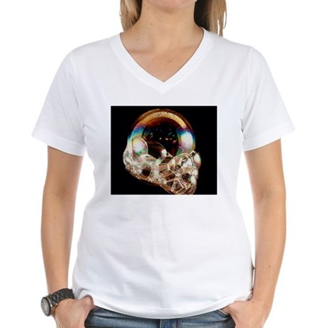 Soap bubbles Women's V-Neck T-Shirt