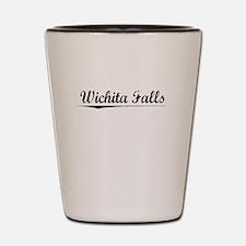 Wichita Falls, Vintage Shot Glass