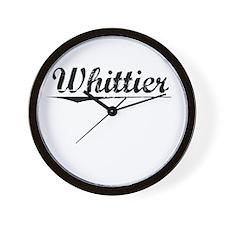 Whittier, Vintage Wall Clock