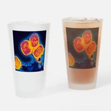 Smallpox variola viruses Drinking Glass