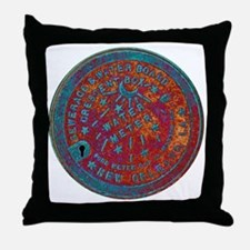 METERCOVER#1 Throw Pillow