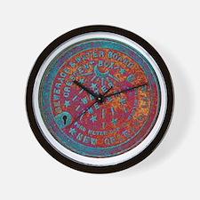 METERCOVER#1 Wall Clock
