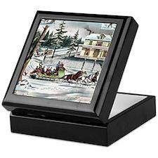Winter Days Keepsake Box