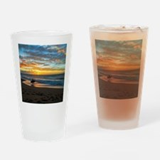 Polihale Sunset Drinking Glass