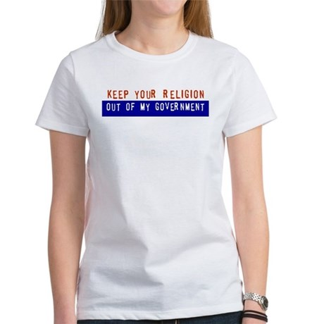 Keep Your Religion... Women's T-Shirt
