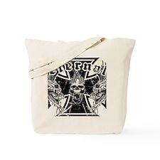 Eternal Edge-Iron Cross Tote Bag