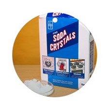 Soda crystals Round Ornament