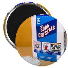 Soda crystals Magnet