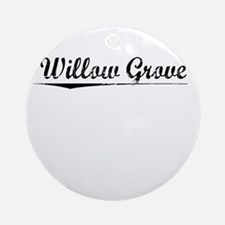 Willow Grove, Vintage Round Ornament