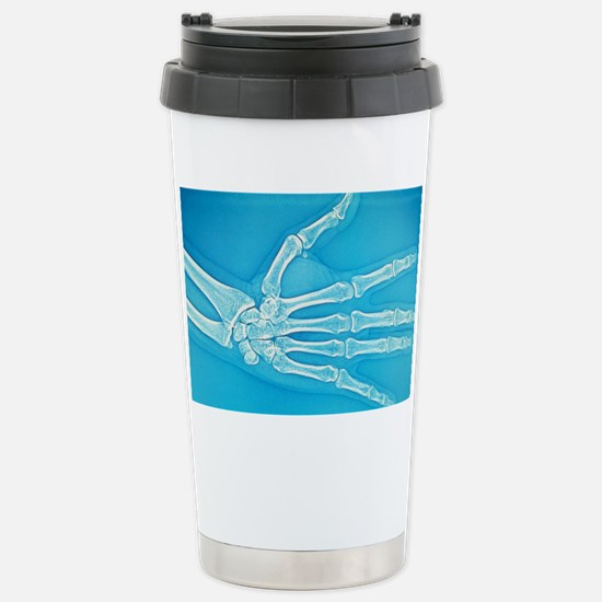Adult hand X-ray Stainless Steel Travel Mug