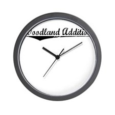 Woodland Addition, Vintage Wall Clock
