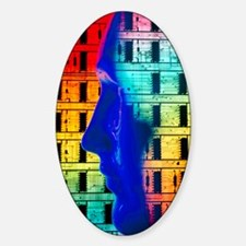 Abstract comp. of human head Decal