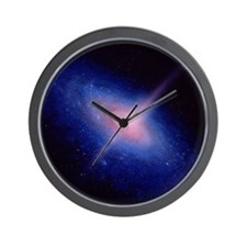 Active galaxy Wall Clock