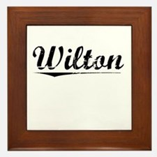 Wilton, Vintage Framed Tile