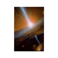 Active galaxy M87 Rectangle Magnet
