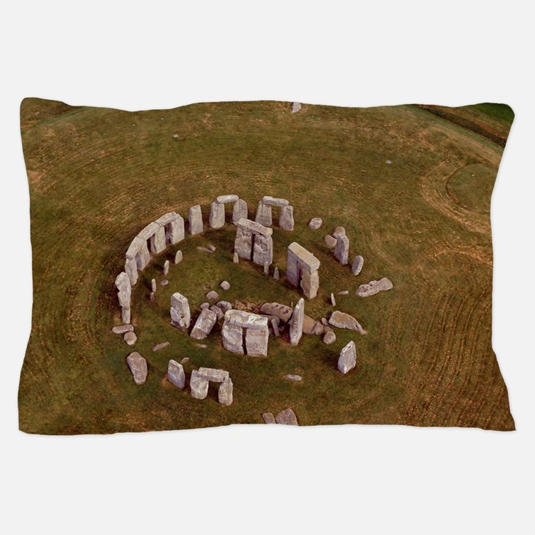 Aerial view of Stonehenge Pillow Case
