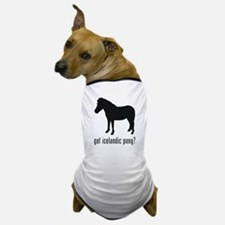 Icelandic Pony Dog T-Shirt