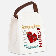ER Nurse Canvas Lunch Bag