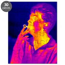 Smoking, thermogram Puzzle