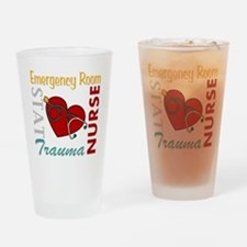 ER Nurse Drinking Glass
