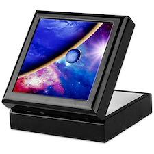 Alien planet Keepsake Box