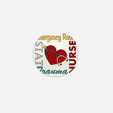ER Nurse Mini Button