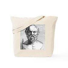 Socrates, Ancient Greek philosopher Tote Bag