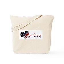 Always loving my airman Tote Bag