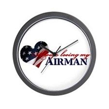 Always loving my airman Wall Clock