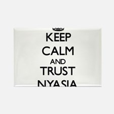 Keep Calm and trust Nyasia Magnets