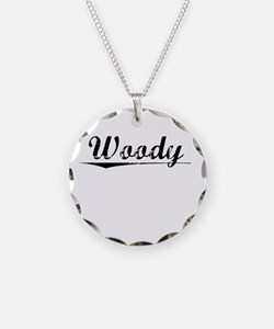 Woody, Vintage Necklace
