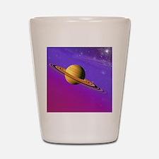Artist's impression of a Saturn-like pl Shot Glass