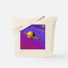 Artist's impression of a Saturn-like plan Tote Bag
