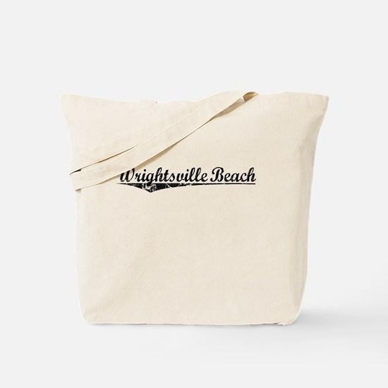 Wrightsville Beach, Vintage Tote Bag
