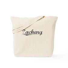 Zachary, Vintage Tote Bag
