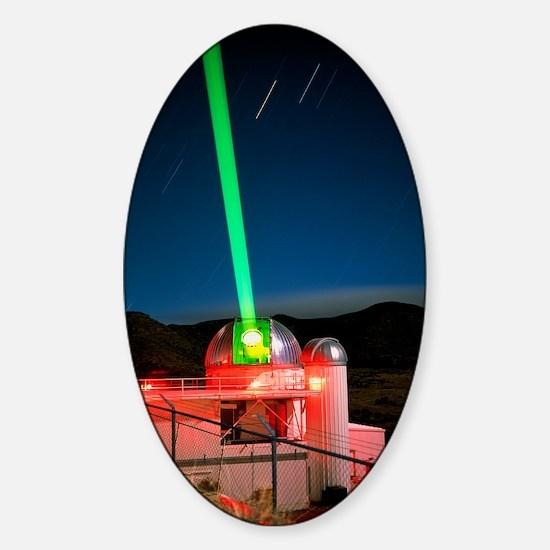 1.5m telescope with laser, Starfire Sticker (Oval)