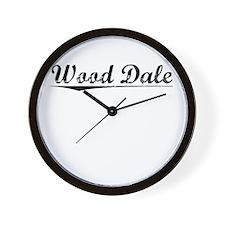 Wood Dale, Vintage Wall Clock
