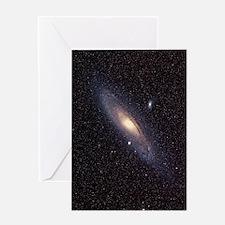 Andromeda galaxy Greeting Card