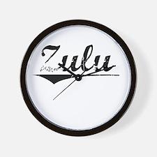 Zulu, Vintage Wall Clock