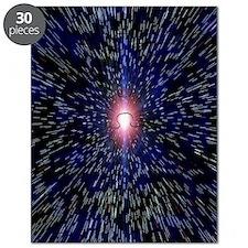 Abstract artwork depicting the Big Bang exp Puzzle